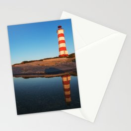 Mirrored Lighthouse Stationery Cards