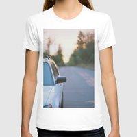 subaru T-shirts featuring Sunrise by MICHAEL