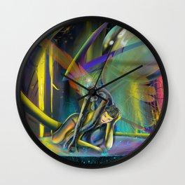 Avatars (Closeup) Wall Clock
