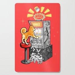 Shiba Slots Cutting Board