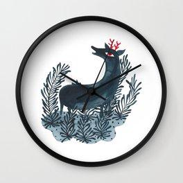 Deep sea deer Wall Clock