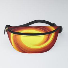 Fire Tempest Abstract Fanny Pack
