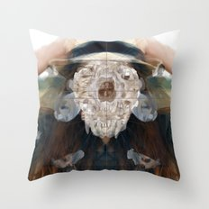 Birth//Death//Rebirth Throw Pillow