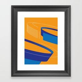 Geometric composition 2 Framed Art Print