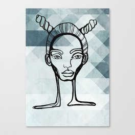 Outlined Canvas Print