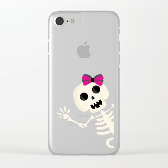Peek a Boo Clear iPhone Case