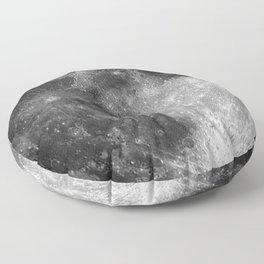Black & White Moon Floor Pillow