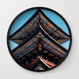 pagoda Wall Clock