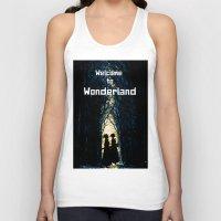 wonderland Tank Tops featuring Wonderland by Design4u Studio