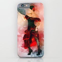 Flamenco Dancer iPhone Case