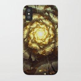 Metallic Flower iPhone Case