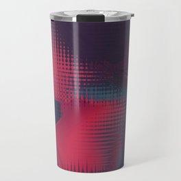 Abstract pixel background 147 Travel Mug