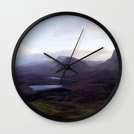 The Quiraing Wall Clock