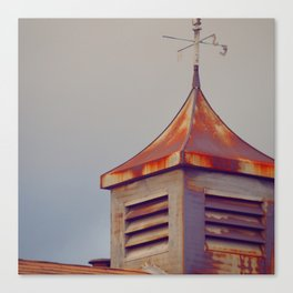 Rusted Rooftop Canvas Print