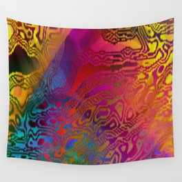 Color Chaos Wall Tapestry