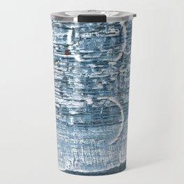 Weldon Blue abstract watercolor Travel Mug