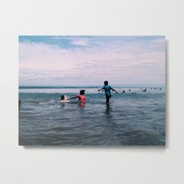 Life Around the Beach 05 : The Family Time Metal Print