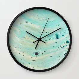 the earth speaks in waves 3 Wall Clock