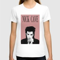 nick cave T-shirts featuring nick cave by tama-durden