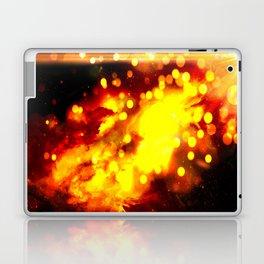 Flammes ensoleillées Laptop & iPad Skin