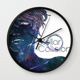 Stellar Collision Wall Clock