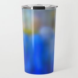 Reflections in blue and gold Travel Mug