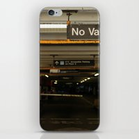 vans iPhone & iPod Skins featuring No Vans by Stephane Rangaya
