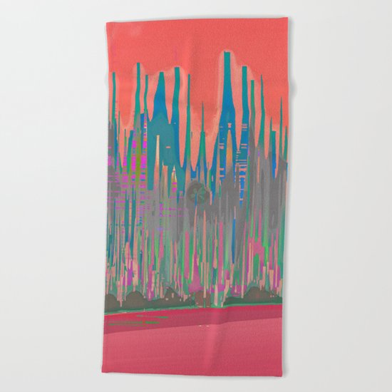 Gothic Avenue Beach Towel