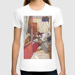 12,000pixel-500dpi - Edouard Vuillard - Women Sewing - Digital Remastered Edition T-shirt