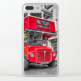 London Routemaster 15 Clear iPhone Case