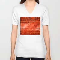 dc V-neck T-shirts featuring DC | Damascus by NOLAN DEMPSEY