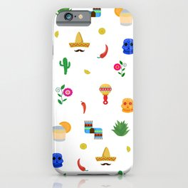 Mexican,colourful pattern art iPhone Case