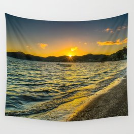 Summer seashore photography Wall Tapestry
