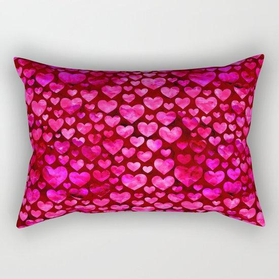 Heart Pattern 01 Rectangular Pillow