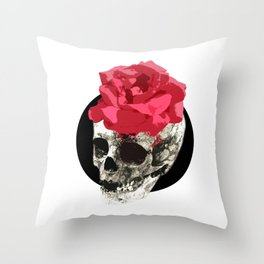 Skull - My Lady Throw Pillow