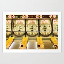 Skee Ball Art Print