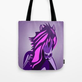 Pony in the Pink (and Purple) Tote Bag