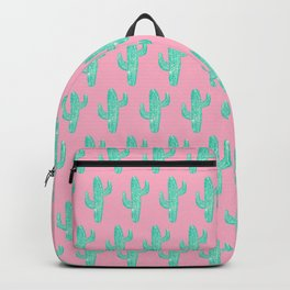 Linocut Cacti Candy Backpack