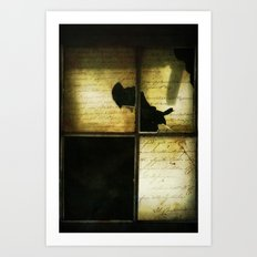 The Words We Meant To Say Art Print
