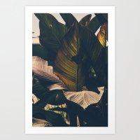 leaf Art Prints featuring Leaf by Chris Schoonover