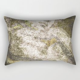 Angel In Bronze And Copper Rectangular Pillow