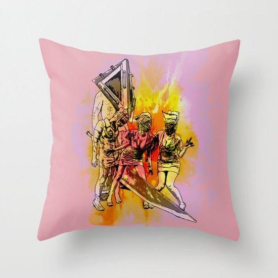 Silent Thrill Throw Pillow