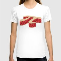 pi T-shirts featuring Pi Pie by Rryan