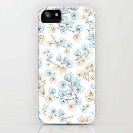 Botanical illustration iPhone Case