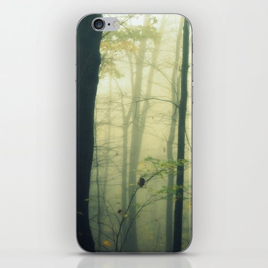 Let the Silence Take Me iPhone Skin