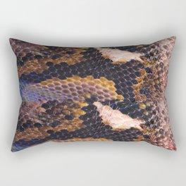 Snakeskin landscape Rectangular Pillow