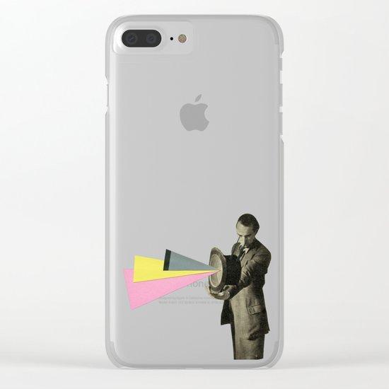 Magic Hat Clear iPhone Case