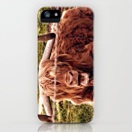 Greetings from the Highlands iPhone Case