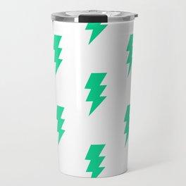 BOLT ((emerald green)) Travel Mug