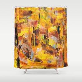 Peanut Butter Shower Curtain